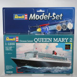 Revell Model Set Queen Mary 2   Achat / Vente JEU ASSEMBLAGE