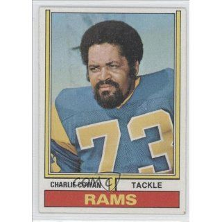 Cowan Los Angeles Rams (Football Card) 1974 Topps #178: Collectibles