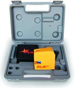 PLS Laser PLS 60521 PLS180 Laser Level Tool, Yellow