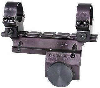 Square Ruger Mini 14 Rifle Mount for 181 Series and Later, Matte