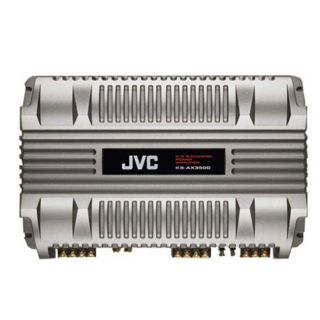JVC KS AX3500 4 Channel Bridgeable 580 watt Power Amplifier