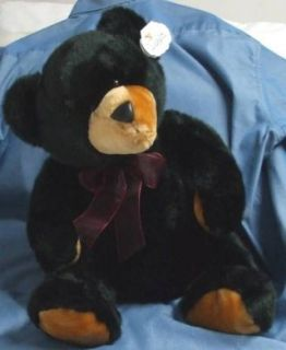 Floppy Black Bear 16 Plush Stuffed Animal Toy Toys