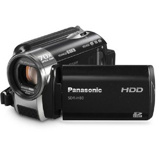 Panasonic SDR H80 Black 60GB Camcorder (Refurbished)