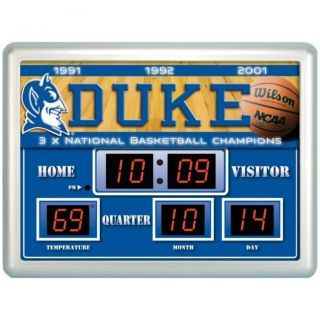 Duke Blue Devils Scoreboard Clock