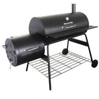 Double Barrel Charcoal Grill