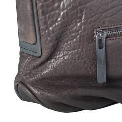 David & Scotti Pebble Leather Hobo Bag