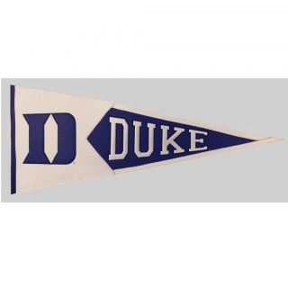 Duke Blue Devils Classic Wool Pennant