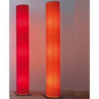 Lost floor lamp   orange, Lycra Fabric, 220   240V (for