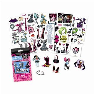 Monster High Sticker Refill   8 Packs (224 Stickers) Toys & Games