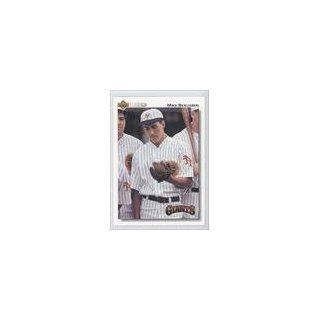 Mike Benjamin San Francisco Giants (Baseball Card) 1992