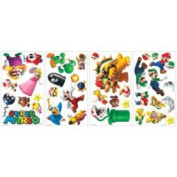RoomMates Nintendo Super Mario Bros. Wii Peel and Stick Wall Decals
