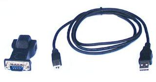 USB to Serial DB9 RS 232 Adapter with 6 ft. USB Cable