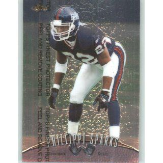 1998 Finest #235 Phillippi Sparks   New York Giants (Football Cards)