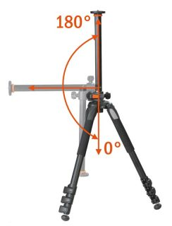 Vanguard Alta Pro 253CT Carbon Fiber Tripod Legs with Instant Swivel