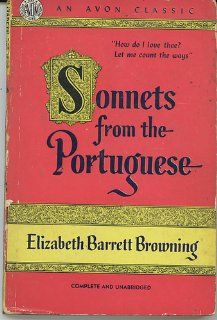 Sonnets From the Portuguese (Avon Pocket Size Books, # 251