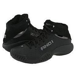 And 1 High Flyer Mid Black/Black/Dark Grey