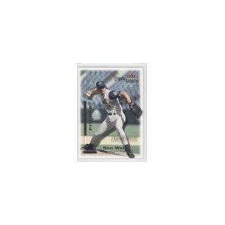 Ben Weber (Baseball Card) 2001 Fleer Triple Crown #268 Collectibles