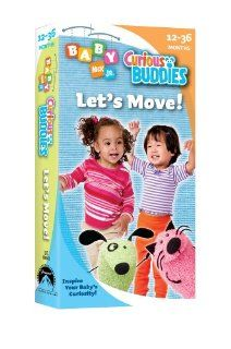 Baby Nick JrLets Move [VHS] Curious Buddies Movies