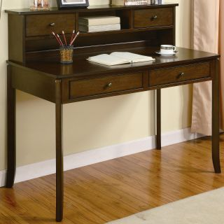 Lauren & Co Allie Classic Writing Desk with Small Storage Hutch