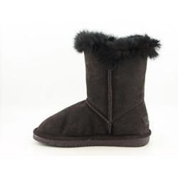 Bearpaw Mackenzie Womens Brown Chocolate Winter Boots