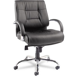 Alera Ravino Big & Tall Series Mid back Black Chair