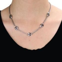 Stainless Steel Designer Inspired Long Necklace