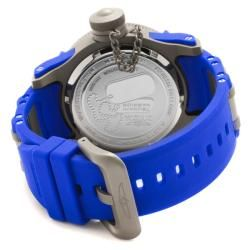 Invicta Mens Tsunami Warrior Blue Rubber Watch