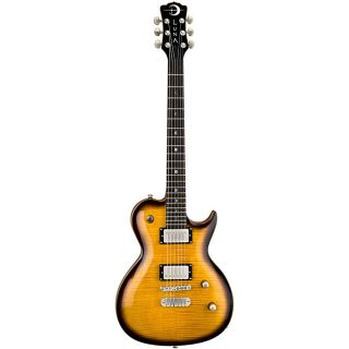 Luna Apollo Single Cutaway Tranz Brizilion Electric Guitar