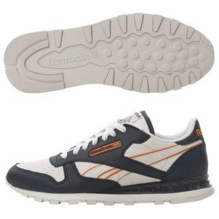 Reebok Mens Chylled Classic Leather Running Shoes
