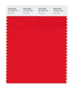 PANTONE SMART 18 1664X Color Swatch Card, Fiery Red