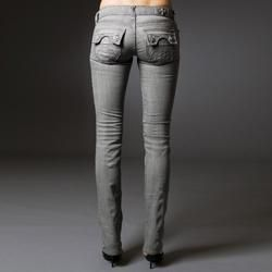 Laguna Beach Womens Hermosa Beach Straight Leg Jeans