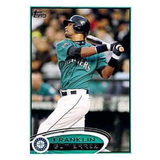 Franklin Gutierrez Seattle Mariners 2012 Topps Mini #286 Collectibles