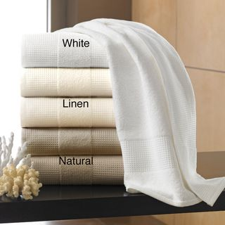 Egyptian Cotton Waffle Terry Collection 650 GSM 6 piece Towel Set