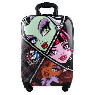 Monster High Hardshell Spinner Rolling Luggage Case Toys