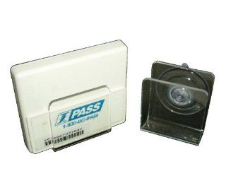 1 (One) EZ Pass I Pass Velcro Tag Transponder Holder