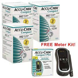Buy 306 Accu Chek Compact Test Strips & Receive a FREE