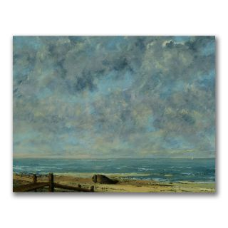 Gustave Courbet The Sea, c.1872 Canvas Art