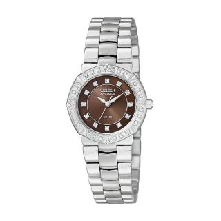 Citizen Eco Drive Womens Serano Diamond Case Watch