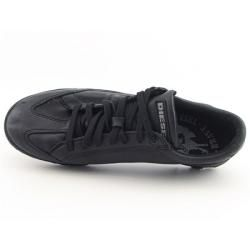 Diesel Mens Black Ice Cool Sneakers