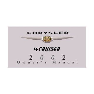 2002 CHRYSLER PT CRUISER Owners Manual User Guide