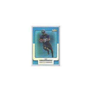 Ben Obomanu #98/299 Seattle Seahawks (Football Card) 2006 Finest Blue