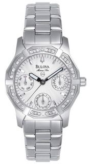 Bulova Marine Star Womens Diamond Watch