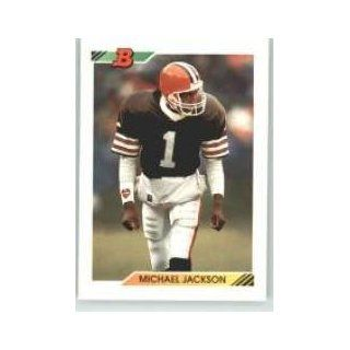 1992 Bowman #53 Michael Jackson   Cleveland Browns (Football Cards)