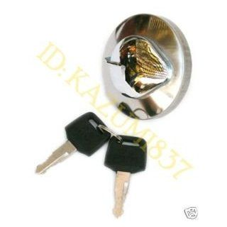 HONDA SHADOW REBEL MAGNA GAS TANK COVER KEY LOCK SET