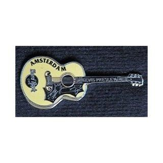 Hard Rock Cafe Pin 12714 Amsterdam Elvis Gibson J 200