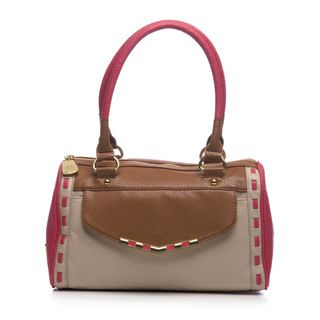 Jessica Simpson Betsy Colorblock Satchel Bag