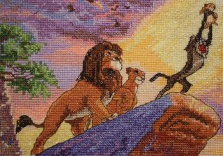 Disney Dreams Collection By Thomas Kinkade The Lion King 5X7 16