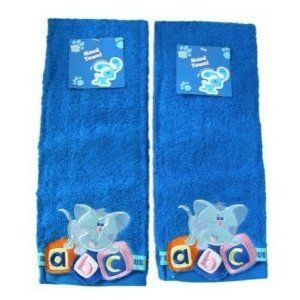 Nick Jr Blues Clues 2 pcs Hand Towels Set Toys & Games