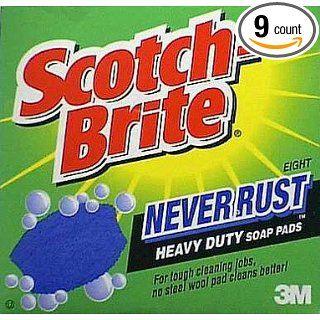Rust Heavy Duty Soap Pads (322) Industrial & Scientific