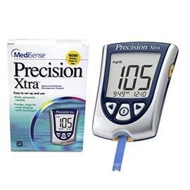 Precision Xtra NFR Blood Glucose Monitoring System Health
